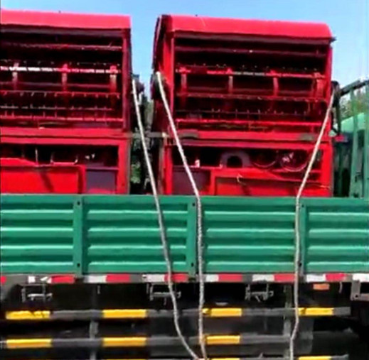 Large Sorghum Threshers Delivery to Hebei Province
