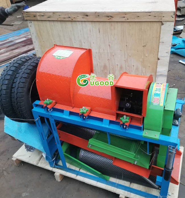 Multi-crops Threshing and Cleaning Machine Delivery to UK
