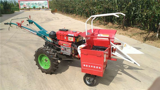 Small Corn Harvester Self-Propelled or Hand Push Type